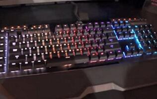 Preview: G.Skill's colorful Ripjaws KM780 RGB mechanical keyboard