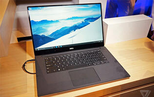 Dell's edge-to-edge Infinity display just arrived on the XPS 15