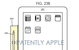 Apple filed patent to protect six iPad accessories including a stylus and its holder