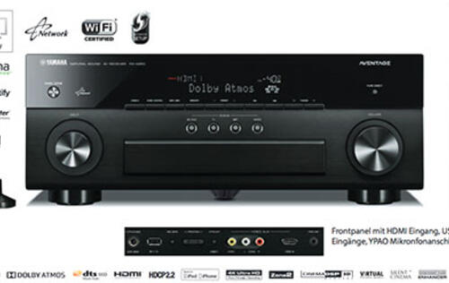 Yamaha's new Aventage RX-A50 AV receiver series to have more Atmos-enabled models