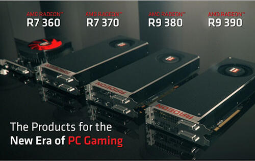 AMD unveils R7 and R9 300 series of cards