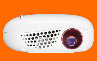 The LG Minibeam Nano is a small and affordable projector for your mobile device