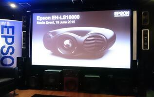 Hands-on with Epson's EH-LS10000, the world's first dual laser 3LCD-R HT projector