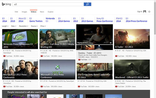Microsoft overhauls Bing with sleek new video search capabilities