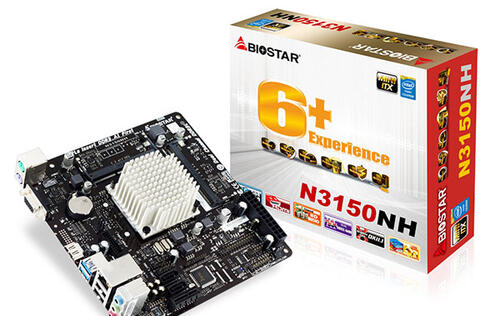 Biostar's new mini-ITX board has an integrated Intel N3150 CPU