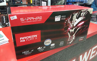 Here are some preliminary benchmarks of the Sapphire Radeon R9 Fury X!