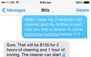 This personal concierge service helps you get anything you want via SMS