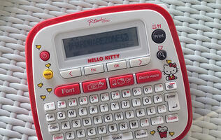 Kawaii! Brother launches special edition Hello Kitty electronic labeler