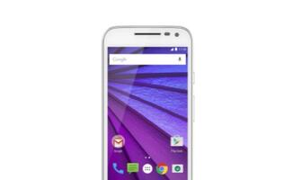 Press images of Motorola Moto G (2015) leaked