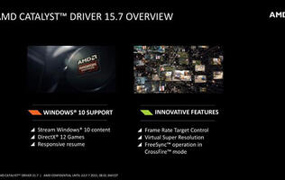 AMD Catalyst 15.7 WHQL driver released, FRTC and VSR now on older cards