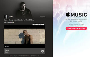 Apple reportedly creating original music videos for artists in bid for Apple Music exclusivity.