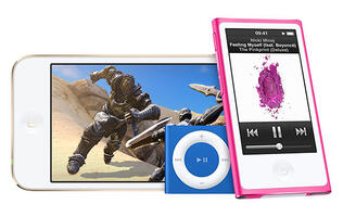Apple refreshes iPod Touch with A8 processor and adds new colors for iPod Nano and Shuffle