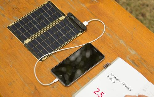Meet the Solar Paper, a portable solar charger that exceeds its Kickstarter goal by tenfold