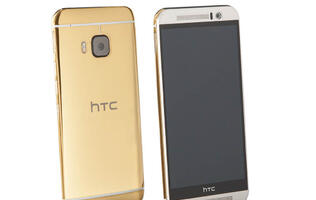 This 24k gold plated HTC One M9 will cost you S$3,360