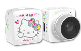 Hello Kitty fans, here's one selfie and live broadcasting camera for you