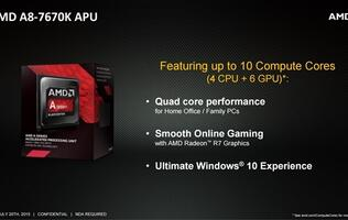 AMD launches budget-friendly A8-7670K APU