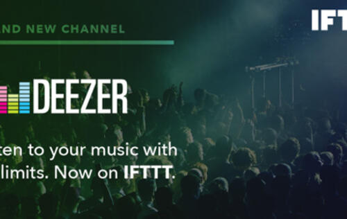 Deezer's IFTTT partnership now automatically matches your room lighting to your tunes and more!
