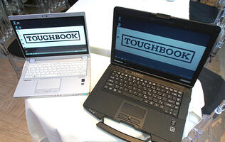 Hands-on: Panasonic's new Toughbooks are equally at home in the office and outside