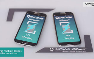 Qualcomm's WiPower wireless charging technology can now charge metal phones