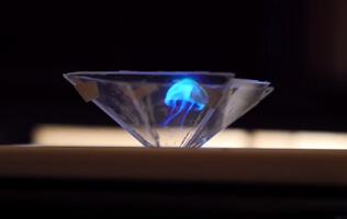 Turn your smartphone into an amazing 3D hologram