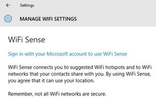 Let's be clear: Wi-Fi Sense in Windows 10 is not a security risk