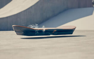 Lexus adds the finishing touches to their branded hoverboard