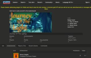 "PSA: Steam game ""Journey of the Light"" is a scam; first level is unbeatable"