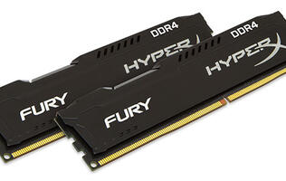Kingston HyperX releases Fury DDR4 memory kits for Intel Skylake processors