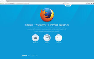 Mozilla updates Firefox for Windows 10 with new look and better integration