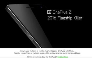 OnePlus 2 comes to Malaysian telco Maxis, begins taking reservations