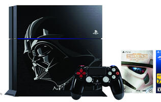 The Dark Lord of the Sith gets his own limited edition PS4
