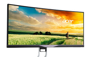 Acer launches 34-inch QHD curved display that supports AMD FreeSync