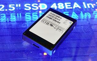 Samsung has unveiled its 16TB SSD that's based on third-gen 3D V-NAND flash memory