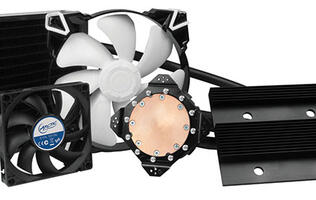 Arctic's new Accelero Hybrid III-140 graphics card cooler packs some serious cooling