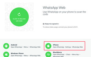 Whatsapp's web client coming soon to iPhone users