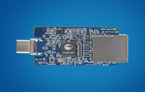 USB 3.0 ports to deliver near-Gigabit speeds with Cypress EZ-USB GX3 controller