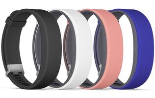 Sony unveils SmartBand 2 with heart rate sensor and IP68 waterproofing
