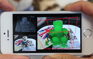 Microsoft's MobileFusion turns your phone into a 3D scanner