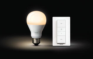 Philips' Hue wireless dimming kit makes it easy to install dimming remote lights