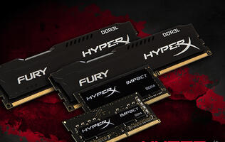 HyperX adds DDR3L to Fury memory series, announces new Impact DDR4 SO-DIMMs
