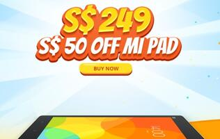 Xiaomi Singapore reduces price of 7.9-inch Mi Pad to S$249