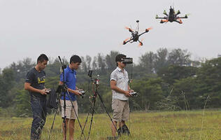 Drone-flying becoming increasingly popular with local hobbyists