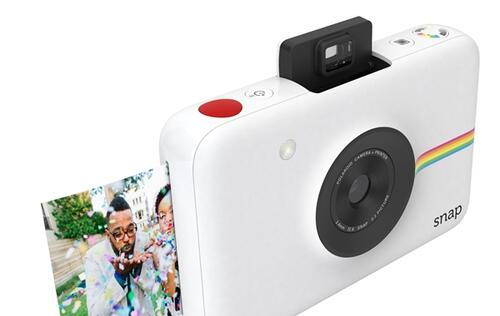 Meet Polaroid Snap, the latest pocket-sized instant camera that prints without ink!