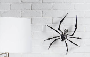 Afraid of spiders? Then MB&F's new Arachnophobia clock will give you the creeps