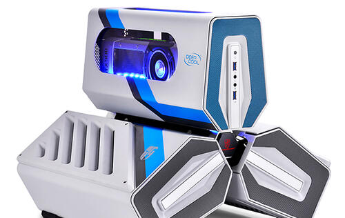 Deepcool's new Tristeller S chassis looks like an alien spacecraft