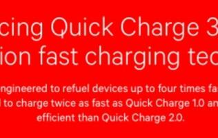 Batteries go from 0 to 80% in 35 minutes with Qualcomm's Quick Charge 3.0