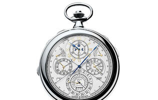 Meet the new Vacheron Constantin pocket watch that has more complications than an Apple Watch