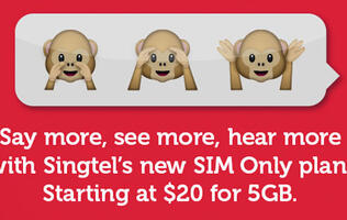Singtel hops on the SIM-only postpaid bandwagon; focuses on data-only usage