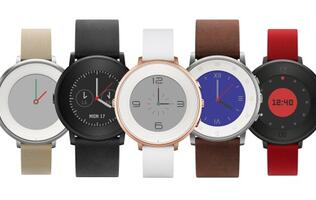 Pebble unveils its first circular smartwatch, the Pebble Time Round
