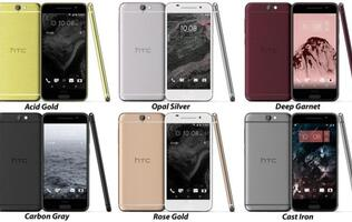 Massive leak reveals six color options and iPhone-like design for HTC One A9